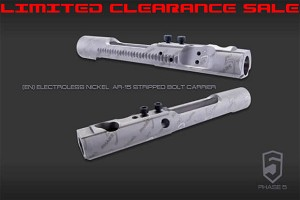 Phase 5 AR15 Bolt Carrier - Slick Electroless Nickel AR-15