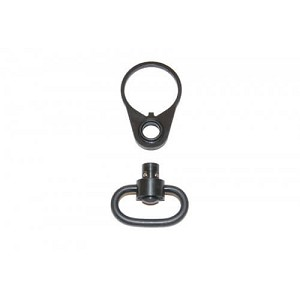 Guntec AR15 QD Single Point Sling Adapter Endplate and Swivel