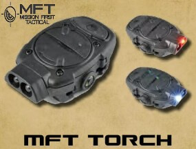Mission First Tactical MFT TORCH Backup Stealth Light