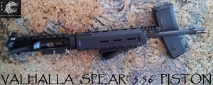 Valhalla Tactical Spear Piston AR15 Complete Upper Adams
