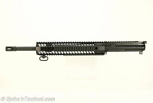 "Spike's Tactical Mid Upper 5.56 16"" M4 12"" BAR2 Rail"
