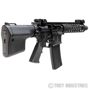 Troy Battle Ax CQB Collapsible AR15 Stock BattleAx