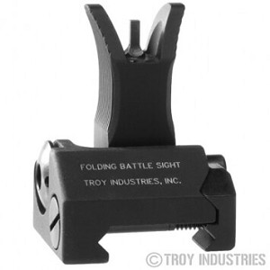 Troy BattleSight Front M4 Folding Flip Up Sight BUIS