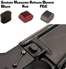 Seekins Precision SP Black Billet Mag Release AR15 Magazine AR-15 AR10  Button