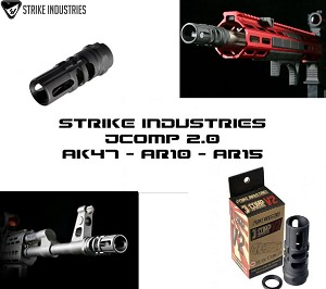 Strike Industries SI-JCOMP2-308/7.62 JAPAN TYPE89 2.0 V2 AR10 5/8X24 300 Blackout