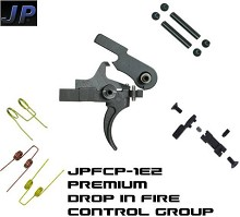 JP Enterprises EZ Drop In Trigger System AR15 AR10 Single Stage