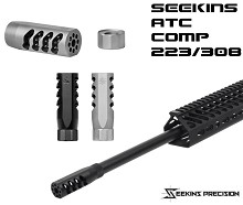 Seekins Precision SP ATC AR15 Black Advanced Tactical Compensator 5.56 AR-15