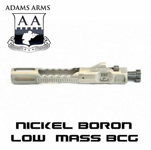 Adams Arms One-Piece Low Mass Nickel Boron Piston BCG Bolt Carrier Group NiB