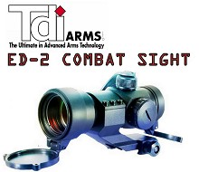 TDI ED-2 Compact and Rugged Tactical Red Dot Sight LEI