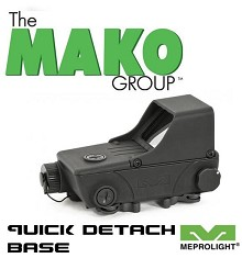 Mepro Tru-Dot RDS Military Red Dot Sight with 1.8 MOA Meprolight