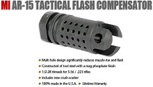 Midwest Industries MI-MB3 AR-15 Tactcal Flash Hider AR15 Compensator