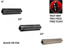Troy MRF Strongest User-Installed 2 Piece Free-float AR15 Rail
