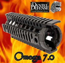 Daniel Defense Omega Rail 7.0 No Gunsmithing Free Float Quad
