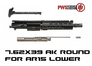 "PWS 7.5"" Pistol Mk107 Mod1 7.62x39 Piston AK47 Upper for AR15"