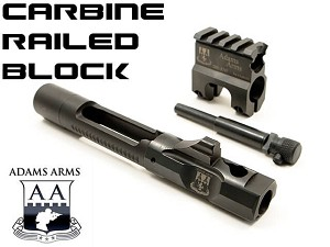 Adams Arms Carbine Railed .750 Gas Block Piston Conversion Kit Retrofit