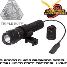 Sightmark Q5 Triple Duty Tactical Flashlight Remote Pressure Pad