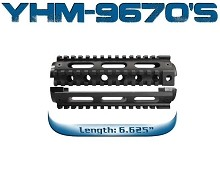Yankee Hill Machine YHM Drop In 2pc AR15 Carbine Quad Rail Forearm 9670 9670-C Colt AR-15 2 piece