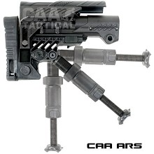 CAA ARS w/ Monopod Sharp Shooting Collapsible Carbine Stock Command Arms AR15