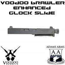 Adams Arms Brawler 17 Glock Slide Assembly Voodoo VDI 9mm