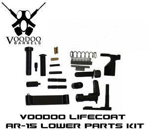 Adams Arms LPK LifeCoat AR15 Lower Parts Kit No Fire Control Group Voodoo VDI