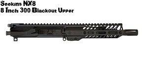 "Seekins Precision SP 300BLK NX8 Complete 8"" Upper"