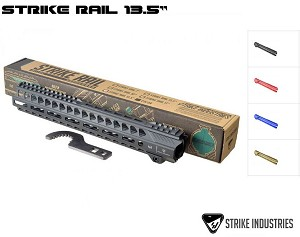 "Strike Industries 13.5"" Rail AR15 MLOK Handguard Free Floating M-LOK"