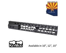 Guntec USA O.D. Green Air Lite Keymod Free Float Handguard