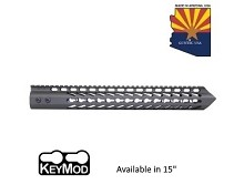 Guntec USA O.D. Green Trident Series Ultra Lighweight Thin Keymod Free Float Handguard