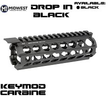 Midwest MI-17K Drop In 2 Piece Carbine Keymod Forearm Modular AR15 Handguard AR-15/M16 M-Series Two Piece