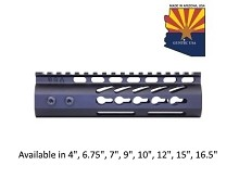 Guntec USA Black Ultra Lightweight Thin Keymod Free Float Handguard