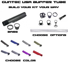 Guntec USA Made AR15 MIL-SPEC Buffer Tube AR-15