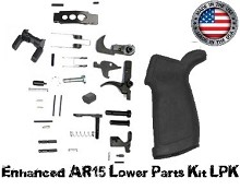 Guntec USA Made AR15 Enhanced LPK Lower Parts Kit AR-15 556