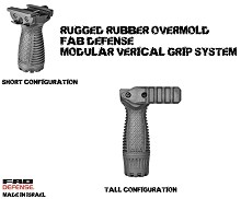 FAB Defense RSG Rubber Overmolded Stout Foregrip Storage Mako