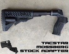 TacStar Mossberg 500/590 AR15 Stock Adapter Black AR-15