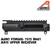 Aero Precision M4E1 Threaded Stripped Upper Receiver AR15 Black AR-15