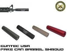 Guntec USA Slip Over AR15 Fake Suppressor Can Barrel Shroud