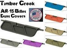Timber Creek AR15 Billet Dust Cover Ejection Port Colors Available AR-15