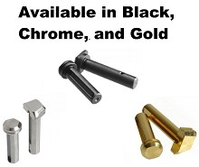 Strike Industries Extended Pivot Takedown Pins AR15 AR-15 Black, Gold, Chrome