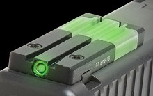 Meprolight FT Bullseye Glock Fiber Optic Tritium Sight Mako