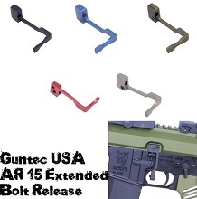 Guntec USA AR15 Extended Bolt Catch Release AR-15