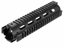 UTG PRO Midlength Handguard USA Made AR15 Quad Rail Drop In Mid Forearm