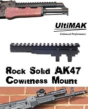 ULTIMAK Absolute Stability AK47 AK-74 SCOUT Optic Mount M2-B