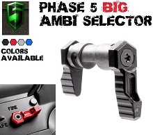 Phase 5 Ambi Safety 90 DEGREE AR15 Ambidextrous SELECTOR