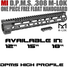 Midwest MI-308SS-DHM M-LOK HIGH Profile DPMS .308 7.62 SS Free Float Handguard