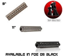 Troy TRX Standard BattleRail AR15 Free Floating AR-15 Quad