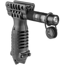 FAB Defense T-PODSL Vertical Forward Grip Bipod Flashlight Mako