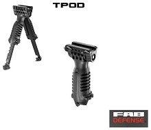 FAB Defense T-POD Vertical Forward Grip Bipod TPOD Mako