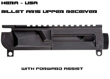 Hera USA HUS Billet with Forward Assist AR15 Stripped Upper Receiver AR-15 Mil-spec